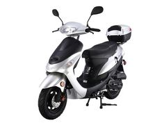 Buy TaoTao Gas Street Legal Automatic Scooter, - Blue with fast shipping and top-rated customer service. Vespa Scooters For Sale, Street Legal Scooters, Cheap Scooters, Motor Scooters, Scooter Wheels, Moped Scooter, Vintage Mopeds For Sale, Tao, Vespas