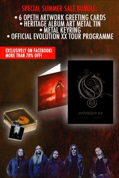 #Opeth exclusive deal! Brutally reduced! Click on the picture to check it out! #Metal