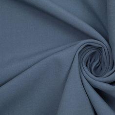 Morris Blazer #2 | Chaiken Provinvial Blue Italian Stretch Cotton Woven Fabric by the Yard | Mood Fabrics