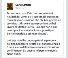 L'INDIPENDENZA DI SAN MARCO: ZAIA, FEUDATARIO DI RE SALVINI! Considerazioni di ...