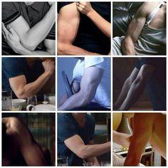 Ohhhhh his arms...