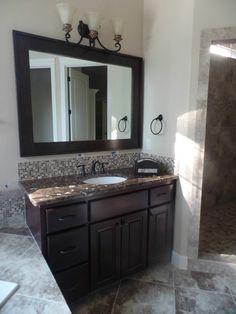Custom bathroom #stoneridgehomes www.stone-ridgehomes.com