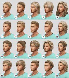 NBHT - the trash files — Natural hair recolor dump ft. The Sims 4 Pc, Sims Four, Sims 4 Mm Cc, Sims 4 Cas, Sims 4 Hair Male, Male Hair, Sims 4 Stories, Sims Medieval, The Sims 4 Cabelos