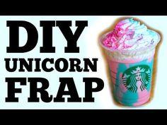 Starbucks' Unicorn Frappuccino – here's a recipe to make a Unicorn Frappe yourself