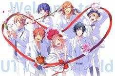 Image result for uta no prince sama haruka and masato