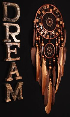 Christmas Dreamcatcher mosaic chocolate Dream Catcher Large
