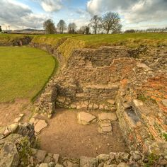 Caerleon Amphitheatre, Wales | Flickr - Photo Sharing!