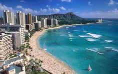 The best Waikiki Beach view from Deluxe Ocean Front Room of Sheraton Waikiki - Oahu Hawaii Vacation Destinations, Dream Vacations, Vacation Spots, Vacation Packages, Vacation Travel, Vacation Places, Family Vacations, Beach Travel, Mahalo Hawaii