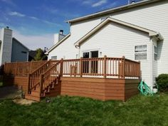 Sherwin Williams Woodscapes exterior stain in Covered Bridge