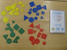 TEMMELLYS - Toiminnallisuutta matematiikkaan: loogiset palat Kindergarten, Education, Math, Logos, Kids, Shapes, Young Children, Boys, Math Resources