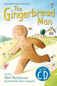 The Gingerbread Man. Book + CD: Usborne English-Lower Intermediate (Level 3) (Usborne First Reading)