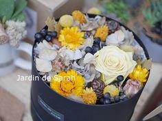 Jardin de Sarah 莎拉花園 不凋花 乾燥花 花禮 恆久小圓禮盒