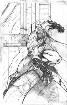 Batman random action pose by jpm1023.deviantart.com on @deviantART