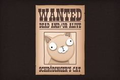 Google Image Result for http://static.neatoshop.com/images/product/71/2471/Schroedingers-Cat-Wanted-Dead-And-Or-Alive_9759-l.jpg