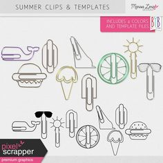 """June 2017 Commercial Use Blog Train - """"Fasteners"""" - Final List by Holly Wolf 