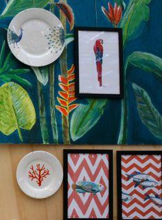 catchii illustrations inspiration wall art porcelain new