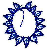 15 Blue Leaf