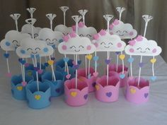 Rainbow Party Decorations, Birthday Decorations, Baby Shower Decorations, Girl Birthday Themes, Birthday Diy, Birthday Parties, Baby Party, Baby Shower Parties, Baby Boy Shower