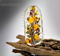Elena Hernburg Very beautiful and obvious talent, as colors offend disappear into translucent glass