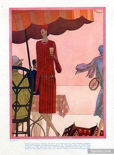 Jane Regny 1927 Sport Fashion, Leon Benigni, Tennis