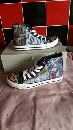 axl rose custom converse weapon hi