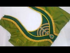 Simple blouse design stitching at home Patch Work Blouse Designs, Best Blouse Designs, Simple Blouse Designs, Stylish Blouse Design, Chudidhar Neck Designs, Salwar Neck Designs, Blouse Back Neck Designs, Hand Designs, Punjabi Suit Neck Designs
