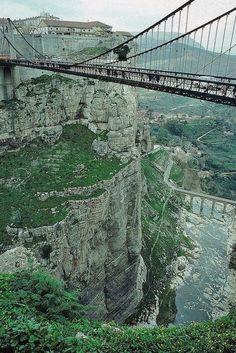 Sidi M'Cid Bridge, Constantine, ALGERIA