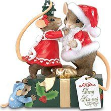 I love Charming Tails figurines - esp their Christmas collection.  Would love to have more of them!!