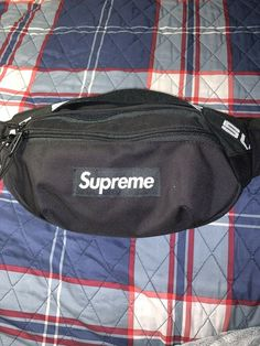 Supreme²  Waist Bag Fanny Pack Shoulder Bag CORDURA Box Logo Black Green Red lot
