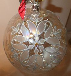 Waterford Hheirlooms Jim O'Leary Silver Grande Snowflake Ball Ornament | eBay