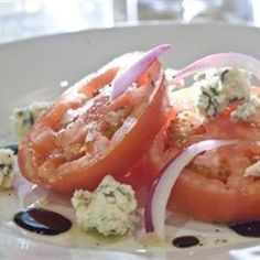 Tomato Basil Towers