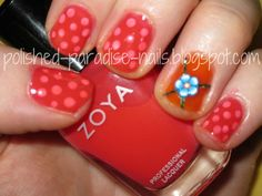 Polished Paradise: Tutorial: Zoya Blogger Trio Dotticure!  Click on the picture for a how to!