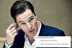 Wait, no, still have B. C. and A. D., but now it stands for Before Cumberbatch and After Discovery.
