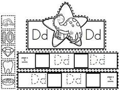 Yo puedo identificar letras y sonidos - Coronas del alfabeto