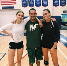 August 11th: Gigi at WestCoast Volleyball Club.