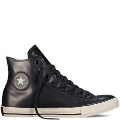 Converse - Chuck Taylor All Star Rubber - Black - Hi Top Outfits With Converse, Converse Sneakers, Best Sneakers, Casual Sneakers, High Top Sneakers, Converse Chuck Taylor All Star, Converse All Star, Chuck Taylor Sneakers, Hipster Shoes