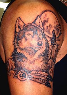 wolves tattoos | Wolf Tattoos Pictures and Images : Page 7