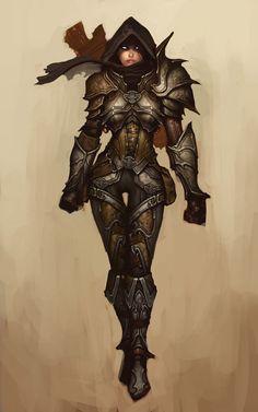 Demon Hunter - Diablo 3 - http://wanelo.com/p/3870872/diablo-3-war-the-secret-formula-to-leveling-and-making-gold-in-diablo-3