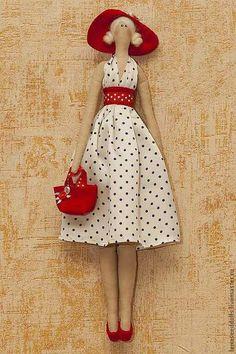 Tilda IL Doll Crafts, Diy Doll, Doll Clothes Patterns, Doll Patterns, Tilda Toy, Doll Home, Sewing Dolls, Waldorf Dolls, Fairy Dolls