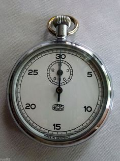 UMF Ruhla vintage German stopwatch - MINT condtion - Collector piece - RARE
