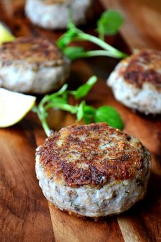 Sardine Fish Cakes - made with tinned sardines, these light and delicate fish cakes are a great way to include fish in a frugal diet.