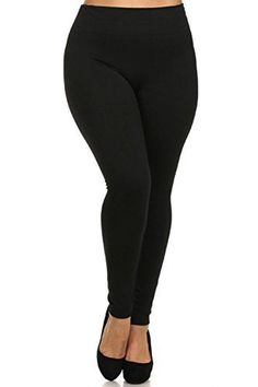 0a8dc17ba2e225 Leggings Mania Fleece Lined Plus Size Thick High Waisted Leggings Fuchsia  at Amazon Women's Clothing store: