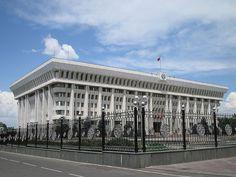 Building of the Supreme Council of Kyrgyzstan in Bishkek