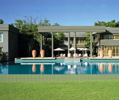 Saxon Hotel, Villas & Spa, Johannesburg, South Africa This 200-year-old manse in the posh Sandhurst suburbs of Johannesburg has been converted into a fashionable 53-room boutique hideaway.