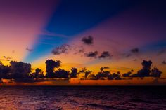 The Bahamas at sunset: ahhhh-mazing.- book your next trip at www.triptopia.info