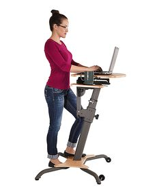 Look at this Wirk Linea Stand-Up Workstation on #zulily today!