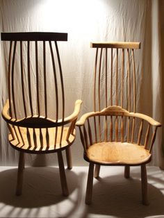 Welsh 'Stick' Chairs.  Neil Taylor Furniture  Bespoke Hand Crafted Wooden Furniture