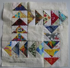 Alamosa Quilter: Goose on the Loose :: Block 7