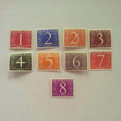 De mooiste postzegels ooit ontworpen van Verymelicious op Etsy, €6.00