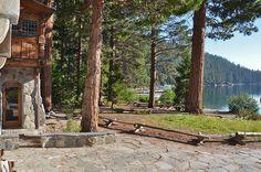 Historic Houses of California - El Dorado County - South Lake Tahoe - Vikingsholm Castle (1929)